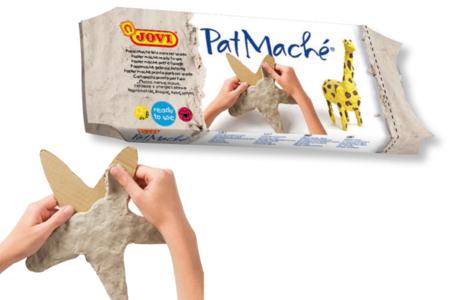 Papier mâché prêt à l'emploi - Pain de 680 gr - Papier mâché – 10doigts.fr