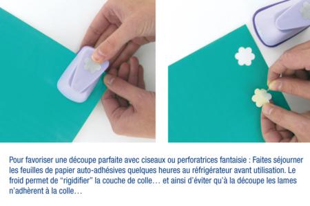 Papier adhésif pailleté Noël - 6 feuilles - Papiers à effets – 10doigts.fr