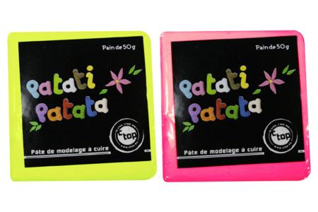 Patati Patata, pâte à modeler à cuire au four - Pâtes PATATI PATATA – 10doigts.fr