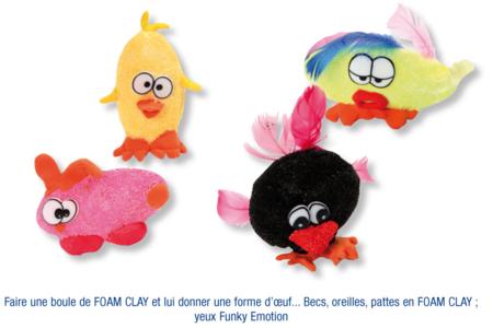 Figurines en FOAM CLAY - Activités enfantines – 10doigts.fr