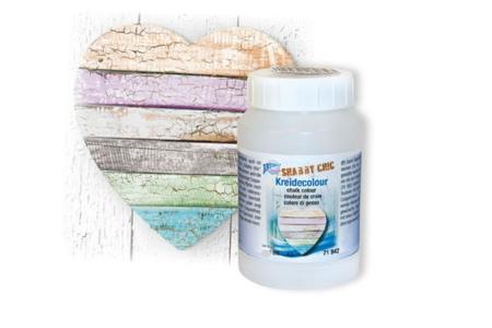 Peinture à la craie - couleurs tendances - Acrylique Effet craie et béton – 10doigts.fr