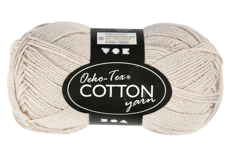 Pelote extra qualité 100% coton - Laine – 10doigts.fr