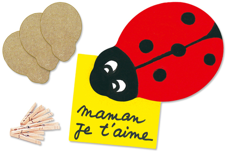 Pense-Bête Coccinelle - Activités enfantines – 10doigts.fr