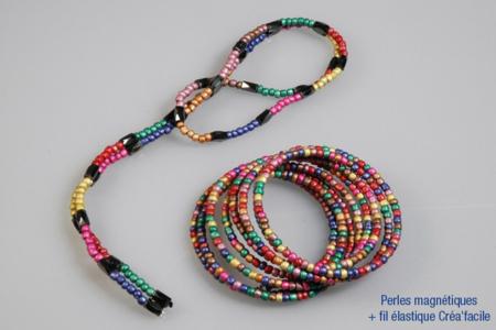 Grosse perles de rocaille nacrées - 4000 perles - Perles de rocaille – 10doigts.fr