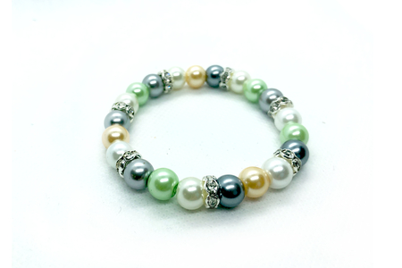 Perles rondes nacrées - 500 perles - Perles nacrées – 10doigts.fr