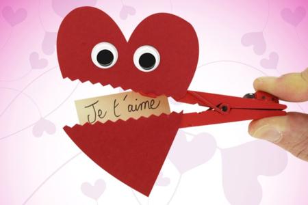 Pince à linge Coeur - Tutos Fête des Mères – 10doigts.fr