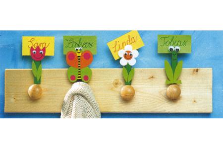 Pinces à linge couleurs assorties - Set de 50 - Pinces à linge colorées – 10doigts.fr