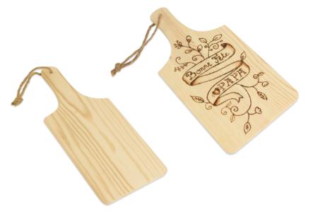 Planche à découper avec poignée - Cuisine et vaisselle – 10doigts.fr