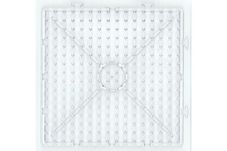 Plaque carrée pour perles à repasser XXL - Perles Fusibles 1 cm – 10doigts.fr