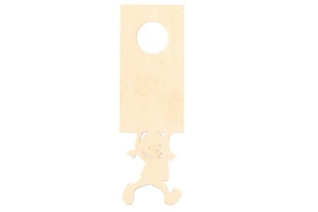 Plaque pour poignée de porte - Plaques en bois – 10doigts.fr
