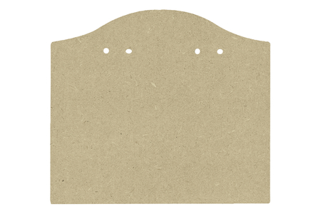 Blason en bois médium prétroué - Plaques de porte – 10doigts.fr