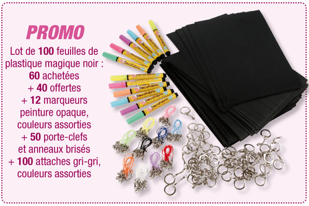 Créer avec du plastique magique noir - Tutos Fête des Mères – 10doigts.fr