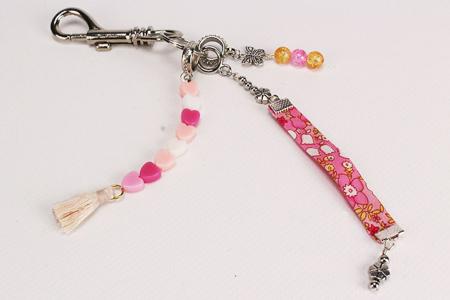 Mousquetons argentés + anneaux brisés - Lot de 2 - Porte-clés pour bijoux – 10doigts.fr