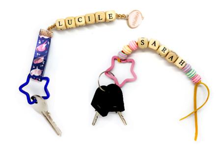 Porte-clés Etoile - Set de 5 - Porte-clefs, Anneaux, Mousquetons – 10doigts.fr