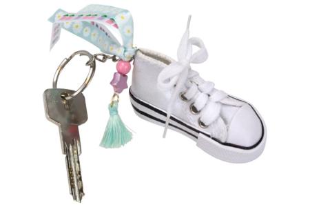 Porte-clés baskets - Lot de 6 - Porte-clés pour bijoux – 10doigts.fr