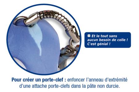 Porte-clefs en FOAM CLAY - Modelage – 10doigts.fr