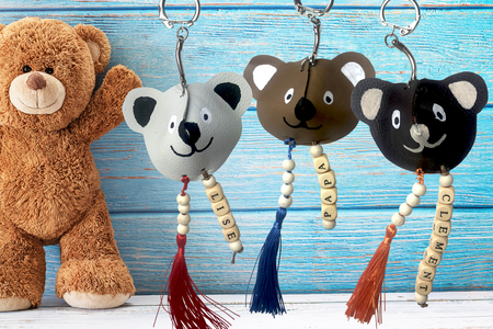 Porte-clés ourson - Tutos Fête des Pères – 10doigts.fr