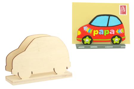 Porte-courrier voiture en bois naturel - Range-courriers – 10doigts.fr