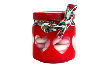 Pot en verre avec couvercle à visser - 100 ml - Supports en Verre – 10doigts.fr