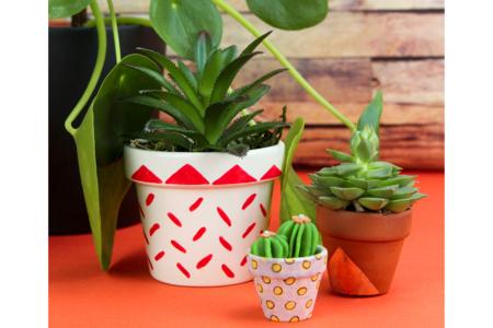 Pots en terre cuite - Taille au choix - Supports en Céramique et Terre Cuite – 10doigts.fr