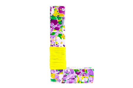 Papier Décopatch fleurs violettes - 3 feuilles N°828 - Papiers Décopatch – 10doigts.fr