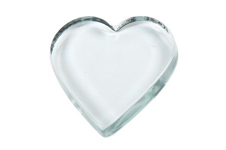 Presse-papier coeur en verre - Lot de 10 - Supports en Verre – 10doigts.fr