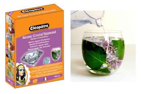 Résine d'inclusion Cléopâtre 150 ml ou 720 ml - Résine – 10doigts.fr