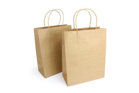 Sacs en kraft Naturel - Lot de 6 - Sacs et Papiers cadeaux – 10doigts.fr