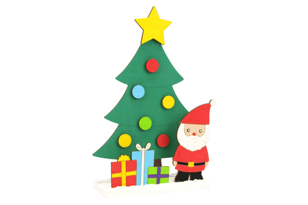 Scenette de Noël en bois à monter - Noël – 10doigts.fr