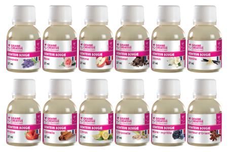 Parfum pour bougies - 27 ml - Colorants, parfums, accessoires – 10doigts.fr