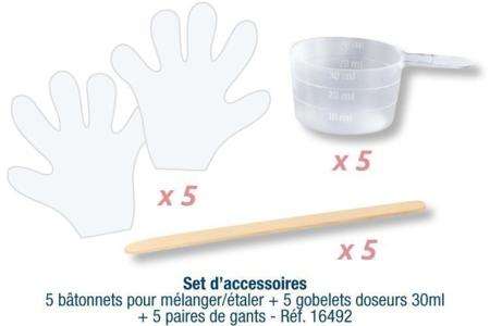Résine de glaçage Cléopâtre - 150 ml  ou 720 ml - Résine – 10doigts.fr