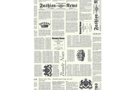 Papier Décopatch Journal - 3 feuilles  N°770 - Papiers Décopatch – 10doigts.fr