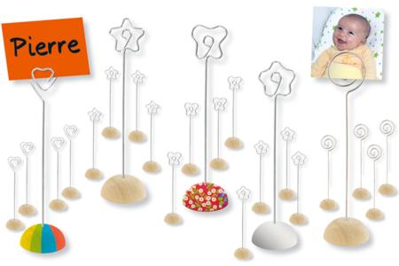 Set de 4 marque-places - Tables de fêtes – 10doigts.fr