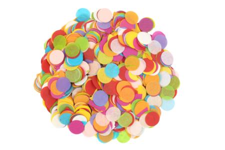 Ronds en papier de soie - 5000 pièces multicolores - Papiers de soie – 10doigts.fr