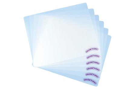 Tapis de protection en plastique - Lot de 6 - Outils de Modelage – 10doigts.fr