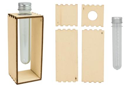 Soliflore en bois à personnaliser - Objets pour la maison – 10doigts.fr