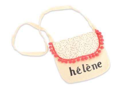 Petit sac à main en coton - Supports tissus – 10doigts.fr