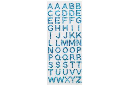 Strass alphabet collants - 55 lettres - Bullet Journal, Planner – 10doigts.fr