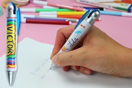 """Stylo bille à personnaliser - Kits activités """"Cadeau à offrir"""" – 10doigts.fr"""