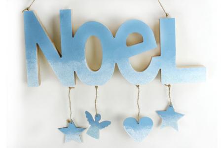 "Mot ""NOËL"" en bois à poser - Noël – 10doigts.fr"