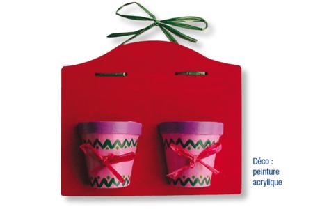 Tableau à pots - Décoration d'objets – 10doigts.fr