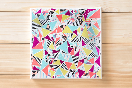 Tableau triangles - Tableaux – 10doigts.fr