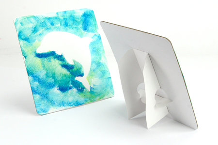 Atelier peinture et pochoirs Océan - Pour 5 personnes - Kits activités clés en main – 10doigts.fr