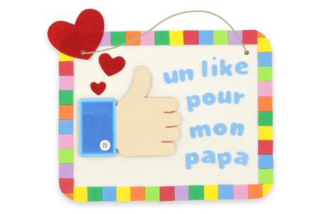 "Tableau ""LIKE"" - Fête des Pères – 10doigts.fr"