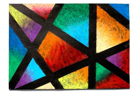 Dessiner avec les pastels à l'huile - Activités enfantines – 10doigts.fr