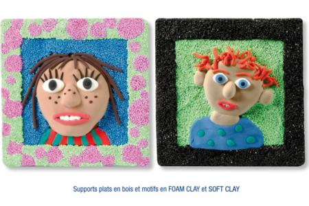 Tableaux en pâtes à modeler SOFT et FOAM CLAY - Modelage – 10doigts.fr