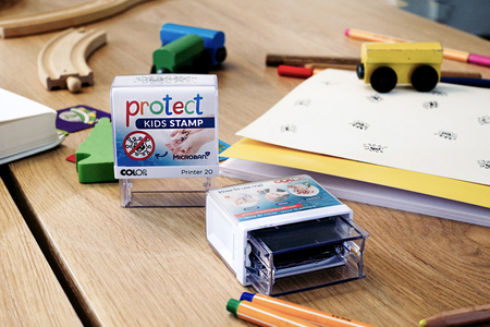 Protect Stamp - Tampon anti-virus - Protections et désinfectants – 10doigts.fr