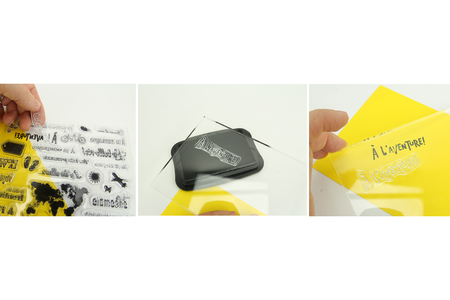 Tampons transparents noel sapin - Tampons transparents en silicone – 10doigts.fr