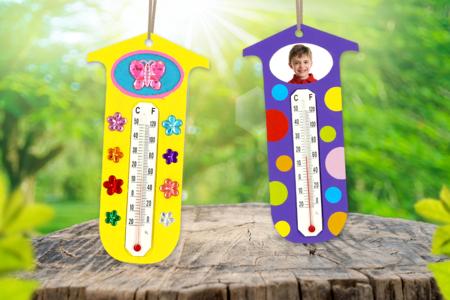 Thermomètre à personnaliser - La météo – 10doigts.fr