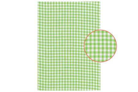 Tissu adhésif vichy vert - Tissus adhésifs – 10doigts.fr
